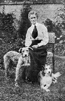 Edith Cavell with Don and Jack