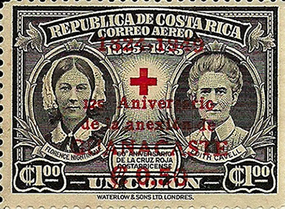 Costa Rica Red Cross stamp