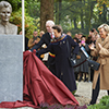 Unveiling of the Edith Cavell bust