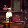 Princess Astrid addresses the Senate