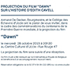 Film Dawn, Uccle Commune invitation